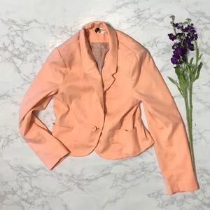 Divided by H&M neon orange blazer jacket 12
